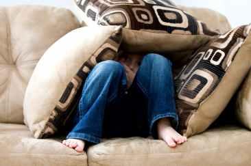 bare feet boy child couch